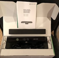 Kinect  brand new with game