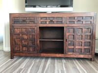 Wood Tv Stand , console cabinet  Mc Lean, 22102