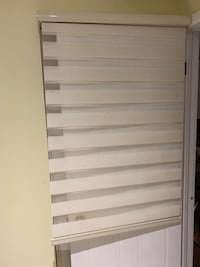 Roll up blinds 34 x 72 inches (w x h)