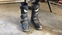 Pair of black and grey dirtbike/atv boots Grand Junction, 81501