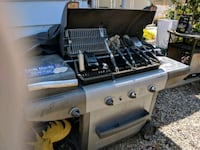 stainless steel and black gas grill Glendora, 91741