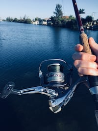 Stainless steel and black sienna reel Fort Myers, 33913