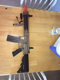 Combat machine assault airsoft rifle A.E.G series (comes with everything) Albuquerque, 87104