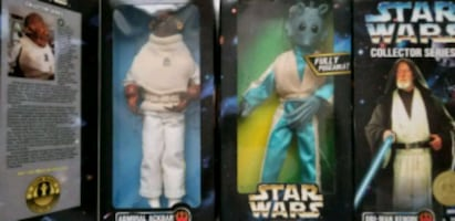 Star Wars Collector Series 12 inch action figures