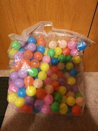 Bag of toy balls for sales