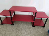 red and black wooden computer desk Reston, 20190