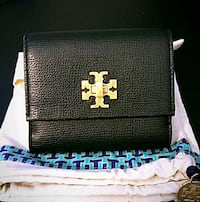 black and white leather wallet Tampa, 33625
