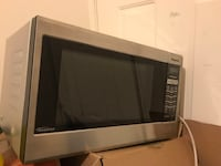 Silver and Black microwave oven Alexandria, 22311