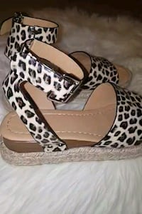 Leopard Platform sandals (OBO) Laurel, 20708
