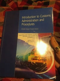 Customs and Administration Procedures textbook Edmonton, T5W 2B8