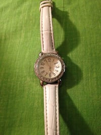 White gemstone watch working Toronto, M4J 3E1