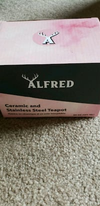 Alfred ceramic & stainless steel teapot Frederick