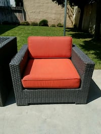 Rattan Sectional Sofa and Chair Los Angeles, 90019
