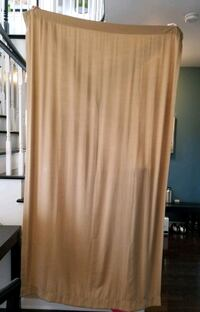 Curtains, Caramel Colour - 1 pair Milton, L9T 7A2