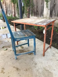 Industrial desk/table