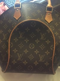 black and brown Louis Vuitton leather backpack Falls Church, 22042
