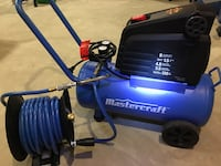 Air Compresser hose and reel tire chuck mint condition  Edmonton, T5Y 3W1