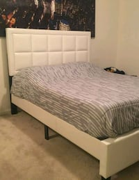 Brand New Queen Size Leather Platform Bed Frame  Silver Spring, 20910