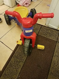 children's red, purple, and yellow trike Tempe, 85281