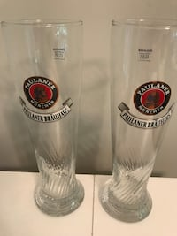 Paulaner Beer Glasses  Sterling, 20165