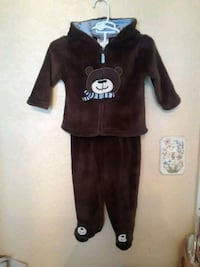 6/9 months ... 2 piece ... hooded outfit Killeen, 76543