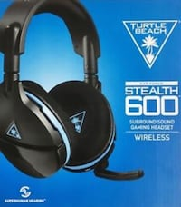 Turtle beach stealth 600 ps4 headset Stephens City, 22655