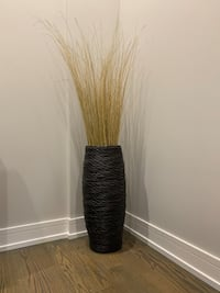 Crate and Barrel Basket with Grass