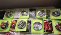 assorted Xbox 360 game cases 47 km