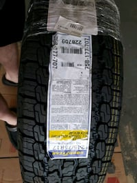 4 brand new goodyear wrangler all terrain with kevlar tire 245/75 r17