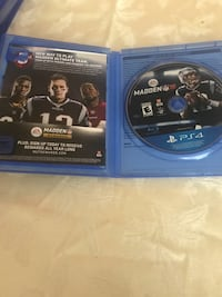 Ps4 game madden 18 Bakersfield, 93306
