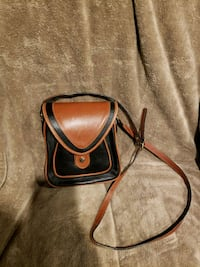 Real leather Del Rio saddle bag Carol Stream, 60188