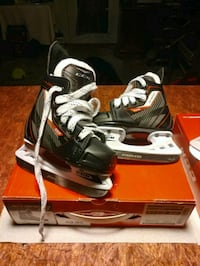 CCM JET SPEED Hockey Skates (YOUTH) SIZE 7J Bow, 03304