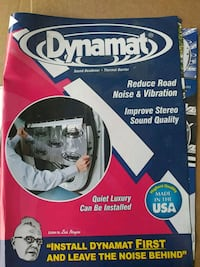 Dynamat noise dampening material  Sterling