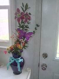 Butterfly and flowers (new) Rushville