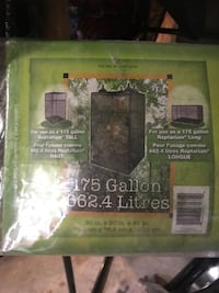 260gallon + 175 gallon pet tank with heat lamps, bulbs & log Peabody, 01960