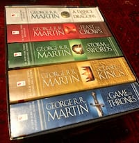 Brand new set of all Game of Thrones books