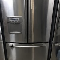 stainless steel french door refrigerator Laval, H7K 3N5