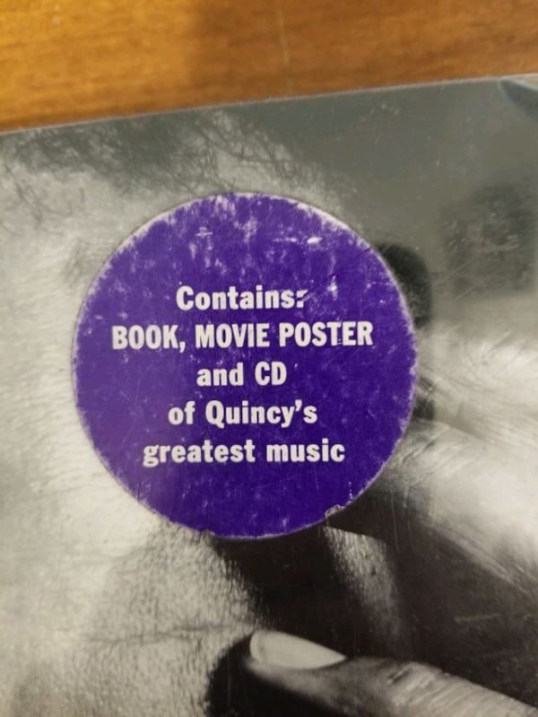 Any Quincy Jones fans out there b65729a3-6b6d-4b42-8d0f-a5ab738a3401
