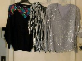 Classy Women's Blouses & Sweaters (4)=15$ all