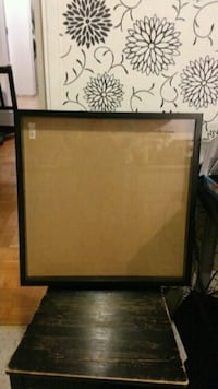 Ikea RIBBA Extra Deep Square Photo/Picture Frame Shadow Box / - Black