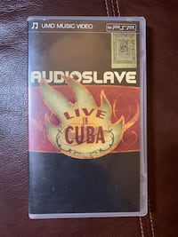 Audioslave Live in Cuba (UMD for PSP 2005 RARE).