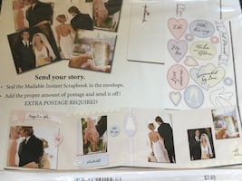 BN wedding scrapbook kit