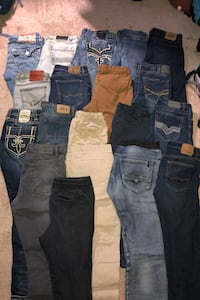 Assorted men's Jeans and Joggers Anchorage, 99507