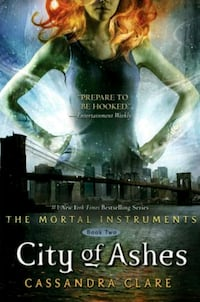 City of Ashes by Cassandra Clare book Kirksville, 63501