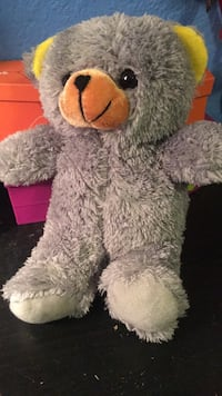 Plush grey bear Lancaster, 93534
