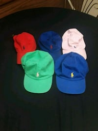 Polo hats 50 for all or 10 a piece Warner Robins, 31088