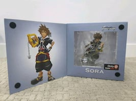 Kingdom hearts sora action figure