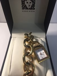 Anne Klein Women's Charm Bracelet Watch Waterloo