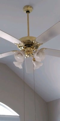 Three speed Ceiling Fan with Lights