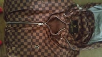 brown and black checkered Louis Vuitton leather to Springfield, 45506